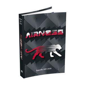 AGENDA - ORGANISEUR AIRNESS Agenda 400118740 - 12 x 17 cm - 1 jour par