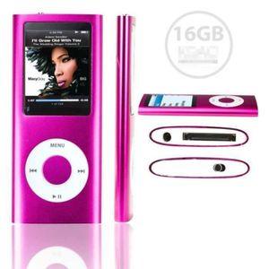 LECTEUR MP4 ANTCOOL®16GB LECTEUR MP3 MP4 STYLE IPOD 16GO - Vid