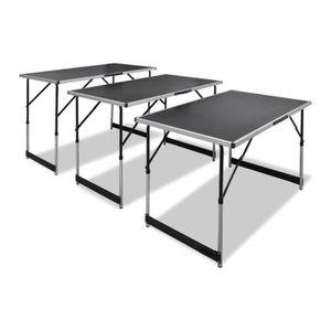 Table de jardin reglable en hauteur - Achat / Vente pas cher