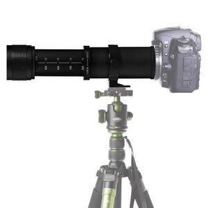 OBJECTIF Téléobjectif zoom manuel pour Canon DSLR caméra 42