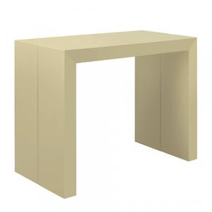 Table Console Extensible Cdiscount.Table Console Extensible Pas Cher 250 Cm Beige Laquee Nina