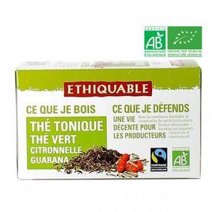 THÉ Thé tonique guarana bio - 36g