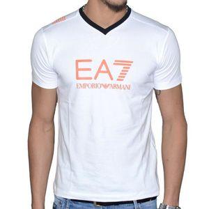 T-SHIRT Tee Shirt EA7 Emporio Armani 273814 Blanc col V