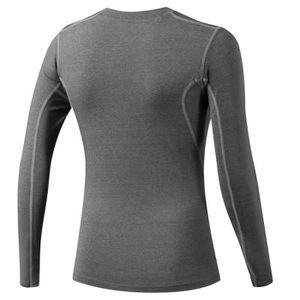 T-SHIRT DE COMPRESSION Fitibest Compression Femme T-shirt à manches longu