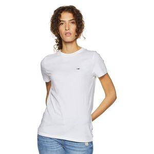 677a40a1 TOMMY HILFIGER Plaine Slim Fit T-shirt de la femme N7V7N Taille-36 ...