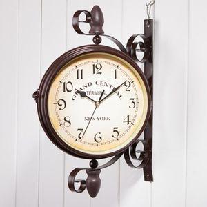 Horloge double face - Achat / Vente pas cher