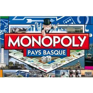 JEU SOCIÉTÉ - PLATEAU MONOPOLY Pays Basque 2014