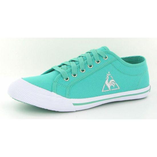 Chaussures Le Coq Sportif Deauvi… Vert Vert - Achat / Vente basket