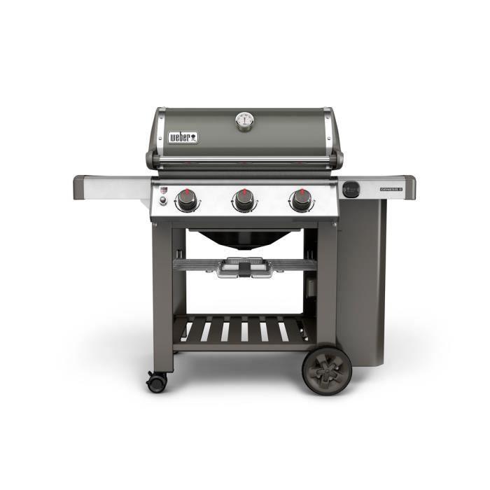 c0192525355 WEBER Barbecue à gaz Genesis II E-310 GBS - Fonte d acier émaillée