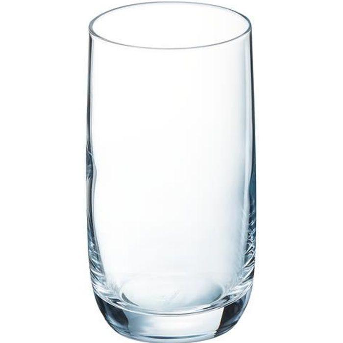 Verre à eau - Soda CHEF ET SOMMELIER Lot de 6 verres gobelets VIGNE -