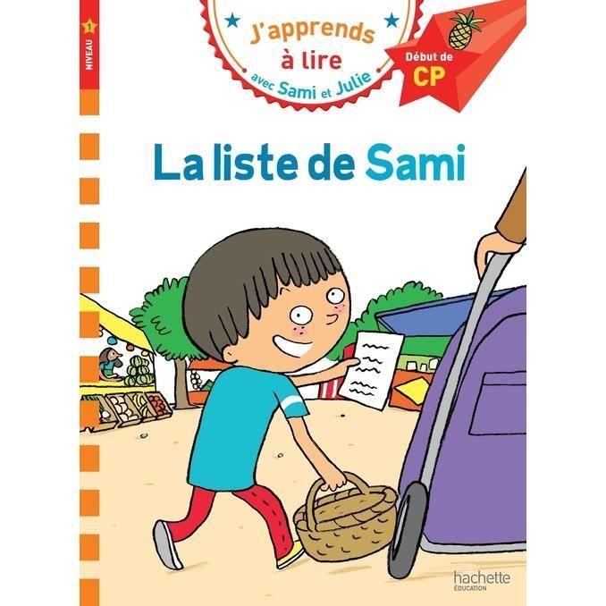Livre 6-9 ANS La liste de Sami