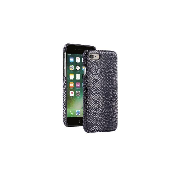 Platyne coque pour iphone 6 6s simili python noir