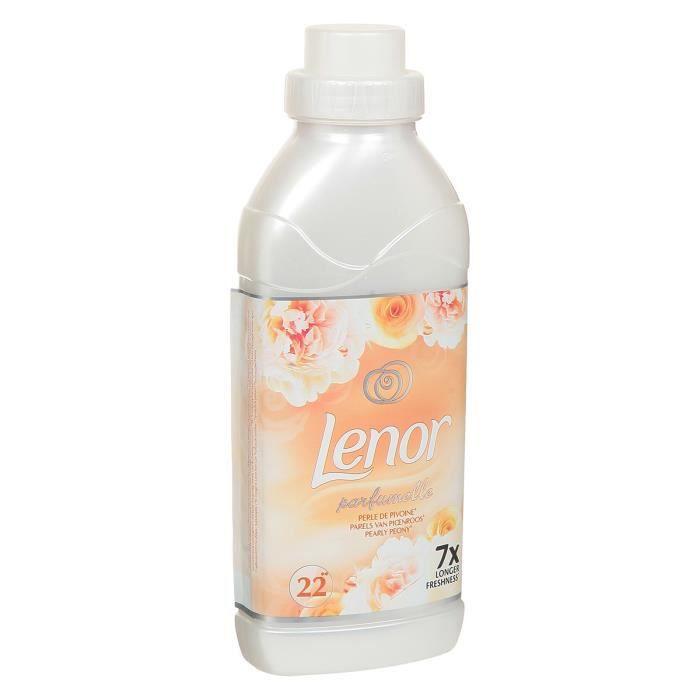 LENOR Adoucissant perle de pivoine - 550 ml