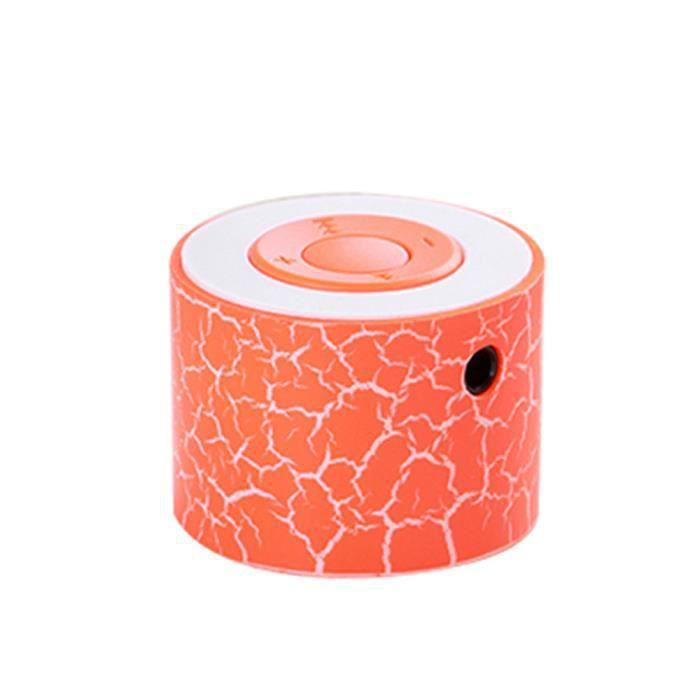 Haut-parleurs Stéréo Mini Basse Portable Lecteur De Musique Sans Fil Haut-parleur Tf Mp3-mp4 296