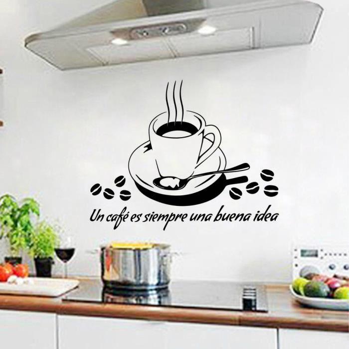 Stickers mural cuisine achat vente stickers mural - Stickers pour carrelage mural cuisine ...