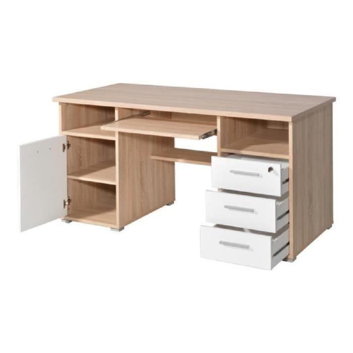 bureau informatique caisson achat vente pas cher. Black Bedroom Furniture Sets. Home Design Ideas
