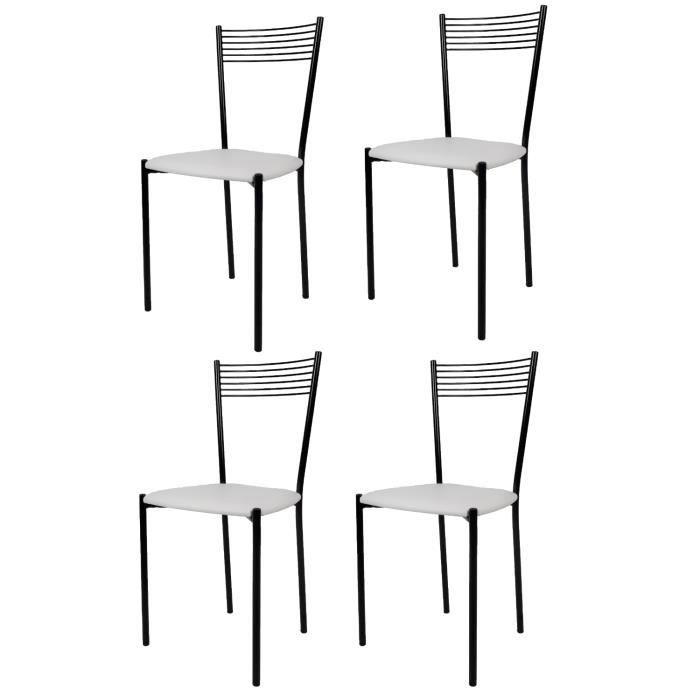 Set 4 Chaises Elegance Modernes Pour La Cuisine Et La Salle