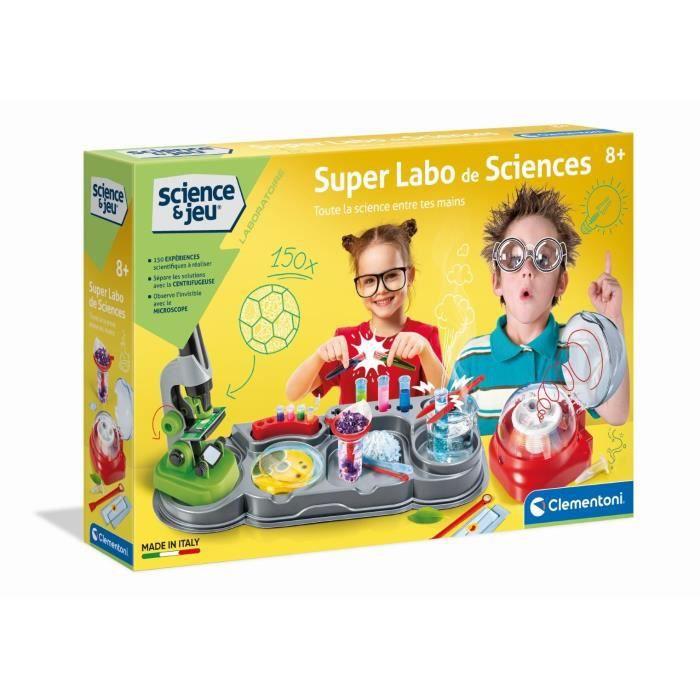 EXPÉRIENCE SCIENTIFIQUE CLEMENTONI Science & Jeu -  Super Labo de Sciences