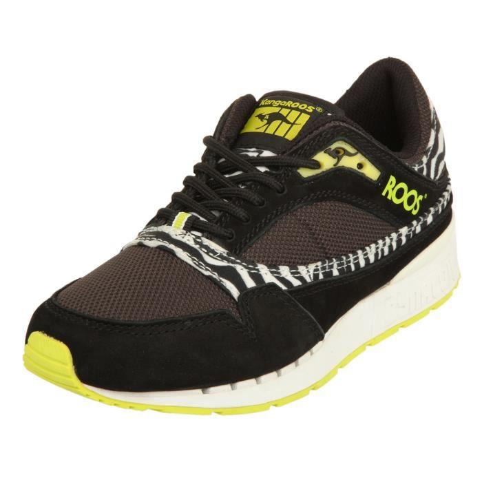 KangaROOS Femmes Sneakers RAGE-ANIMAL Black/Zebra 430160-598 [37]