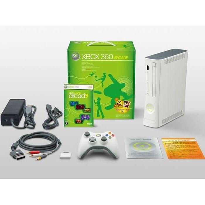 CONSOLE XBOX 360 CONSOLE XBOX360 ARCADE