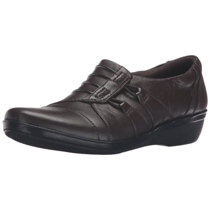 Clarks Everlay Easley Slip-Loafer JPF1T Taille-37 1-2 Mn59q1nyW