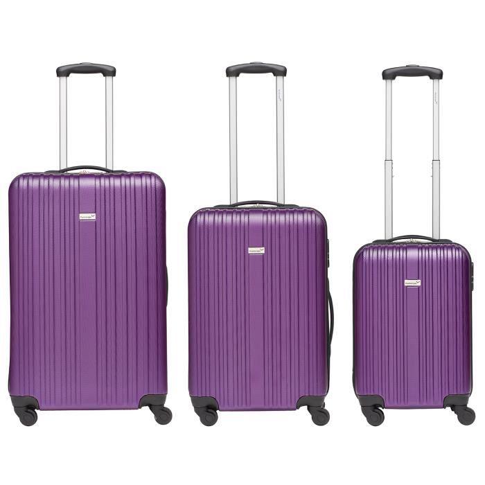 SET DE VALISES Ens. de 3 valises Line, M/L&XL