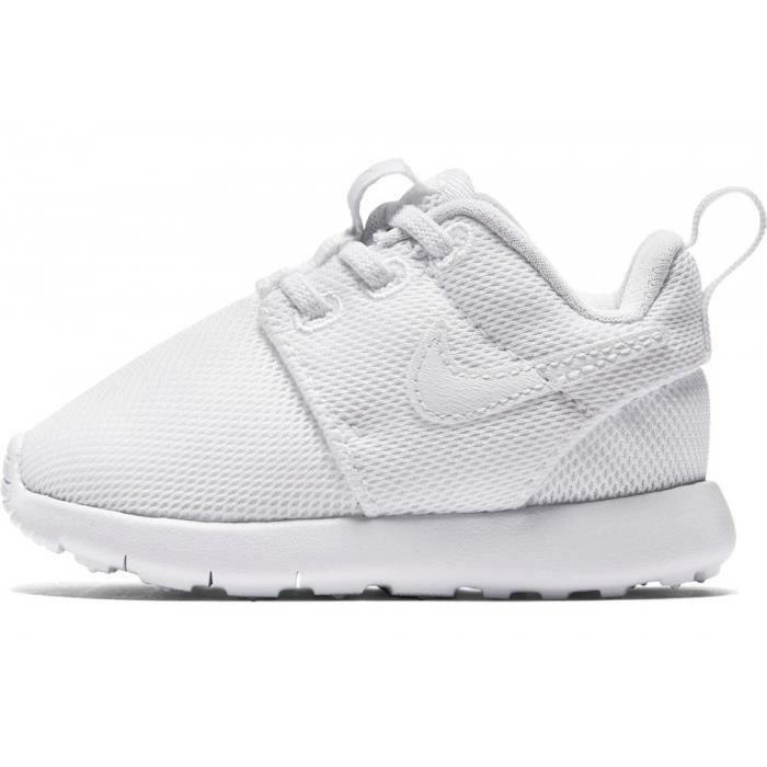 Nike Roshe One bébés (TD) Blanc- 749425-102