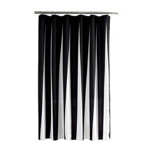 Rideau noir et blanc design finest innovant rideaux design les rideaux occultants les plus - Rideau de douche noir et blanc ...