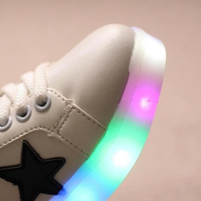 la mode a des chaussures lumineux éclaire décontracté enfants basket wMXRG5l