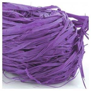 HEYDA Raphia végétal Violet 50g