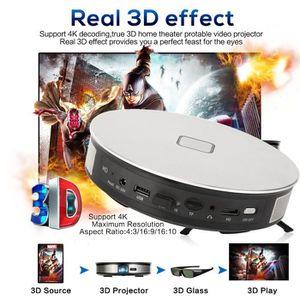 Vidéoprojecteur 4K Décodage vrai 3D Home Cinéma protable Vidéo Pro