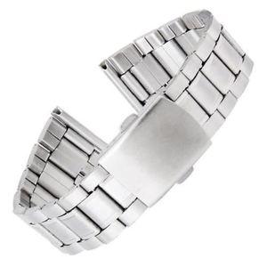 Bracelet montre acier homme 22mm