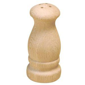 SALIERE - POIVRIERE Salière Poivrière en bois 10 cm - Graine créative