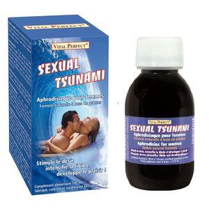 STIMULANT SEXUEL Sexual Tsunami pour désir et libido chez la femme