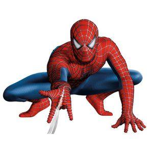TABLEAU - TOILE Spiderman - 40*30 cm - Broderie canevas diamant mo