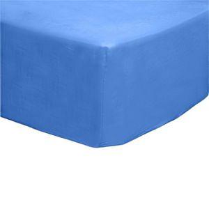 drap housse 80x190 bonnet 30 achat vente pas cher. Black Bedroom Furniture Sets. Home Design Ideas