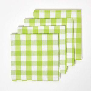 serviette de table vichy achat vente serviette de table vichy pas cher cdiscount. Black Bedroom Furniture Sets. Home Design Ideas