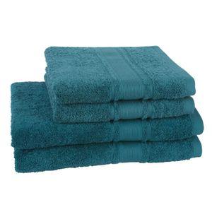 PARURE DE BAIN JULES CLARYSSE Lot de 2 draps de bain + 2 serviett
