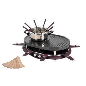 appareil raclette fondue achat vente pas cher. Black Bedroom Furniture Sets. Home Design Ideas