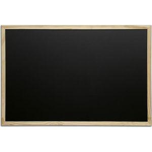 ARDOISE - CRAIE Tableau pour craie cadre bois 40 x 60 cm Bois
