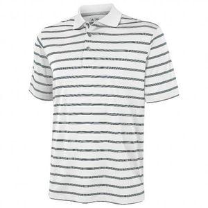 T-SHIRT MAILLOT DE SPORT Adidas Golf - Polo rayé à manches courtes - Hom 395a46e2aabe
