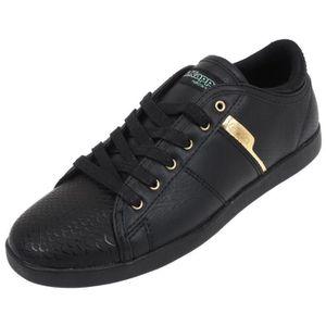 BASKET Chaussures basses cuir ou synthétique Lamaze noir/