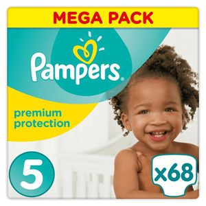 COUCHE PAMPERS Premium Protection Taille 5 11-23 kg - 68