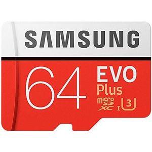 CARTE MÉMOIRE Samsung EVO Plus Micro SDXC 64 Go jusqu'à 100 Mo /