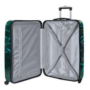 SET DE VALISES SAVEBAG Set de 2 valises rigides 4 roues PALMIERS