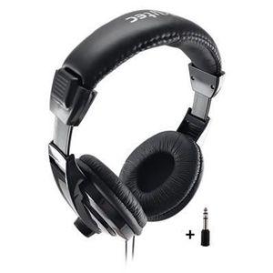 CASQUE - ÉCOUTEURS SkyTec SH120 Casque DJ + Adaptateur Jack 6,35mm
