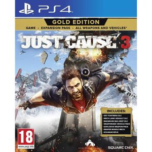 JEU PS4 Just Cause 3 Gold Edition (PS4) - Import Anglais