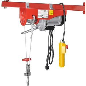 TREUIL - PALAN Palan électrique 1300 W 400/800 kg