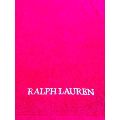 Drap de plage Ralph Lauren Fushia   Achat / Vente serviette de