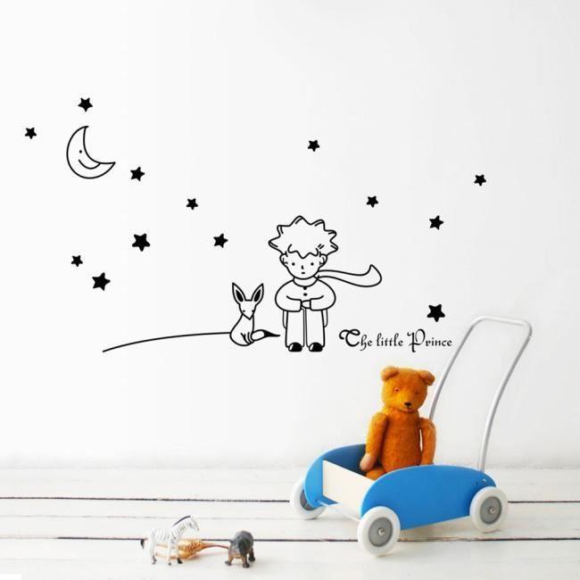 Célèbre Le petit prince autocollant - Achat / Vente Le petit prince  SG45